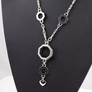 Floating Locket on Chain - Brand New